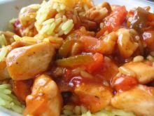 Kurczak z migdałami (xingren jiding)