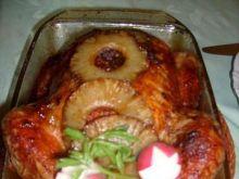 Kurczak z nadzieniem ryżowym.