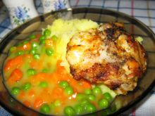 Kurczak z patelni