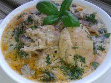 Kurczak z pieczarkami na szybki obiad