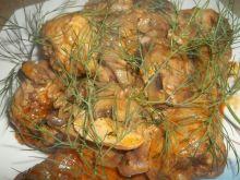 Kurczak z pieczarkami wg Gosi