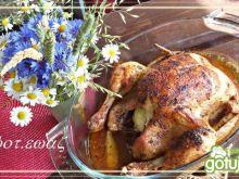 Kurczak z pieprzem cytrynowym i czubrycą