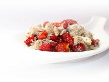 Kurczak z pomidorami suszonymi  cherry