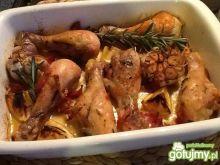 Kurczak z rozmarynem i czosnkiem