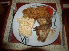 Kurczak z ryżem - danie jednogarnkowe