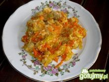 Kurczak z ryżem i warzywami Mysiuni