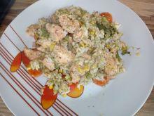 Kurczak z ryżem i warzywami włoską nutką
