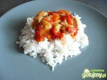 Kurczak z warzywami na ryżu wg Elfi