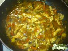 Kurczak z warzywmi Mariel