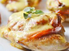 Kurczak zapiekany z warzywami i mozzarellą