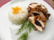 Kurczak ze śliwką i resztą bakalii