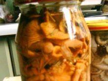Kurki marynowane z rozmarynem