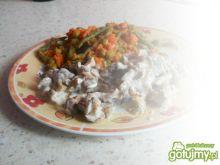 Kurki + warzywa