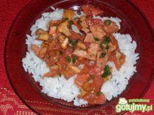 Kurki z ryżem
