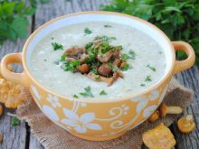 Kurkowa zupa krem