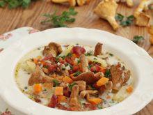 Kurkowa zupa podwędzana