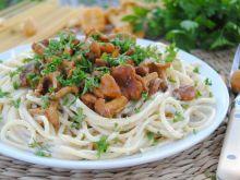 Kurkowe spaghetti