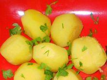 Kurkumowe ziemniaki :