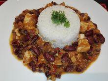 Kurczak chili w potrawce