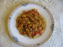 Kuskus z cukinią i pomidorem