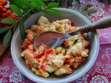 Kuskus z jajkiem i warzywami