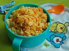 Kuskus z marchewką i kurczakiem