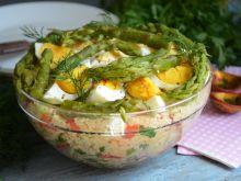 Kuskus z warzywami i jajkiem