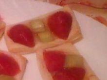 Kwadraciki francuskie z owocami