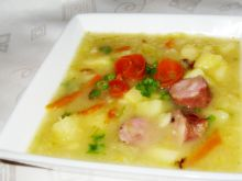 Kwaśna zupa z ziemniakami