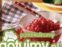 Kwaśny chutney z porzeczek i cebuli