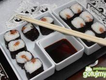 Kwaszona śliwka - Sushi