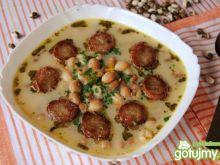 """""""Łaciata"""" zupa lub po prostu groszkowa"""