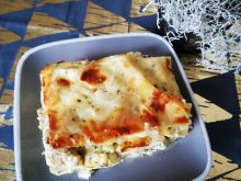 Lasagne brokułowa z kurczakiem