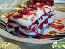 Lasagne truskawkowa