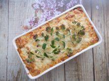 Lasagne w sosie z żółtymi pomidorami