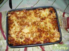 Lasagne z awokado i mozarellą