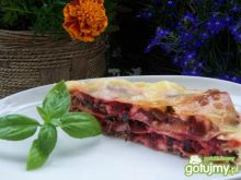 Lasagne z botwinką