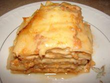 Lasagne z gotowanym mięsem