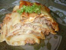 Lasagne z kaszą jęczmienną
