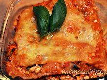 Lasagne z kurczakiem i pieczarkami