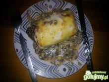 Lasagne z pieczarkami pod beszamelem