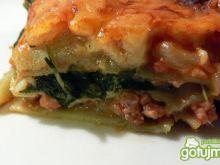 Lasagne ze szpinakiem i mięsem na szybko
