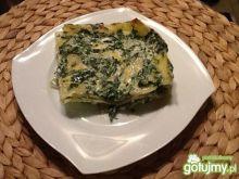Lasagne ze szpinakiem i serami