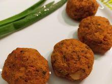 Łatwe pulpeciki marchewkowe wege z piekarnika