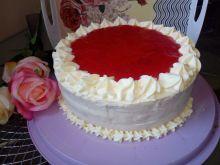 Łatwy tort truskawkowy