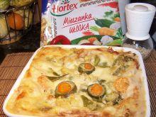Lazanie z włoską mieszanką warzyw