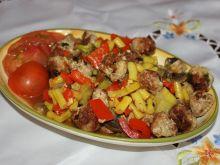 Leczo mięsno-warzywne