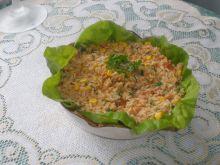 Leczo ryżowe z warzywami