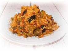 Leczo warzywne z ryżem