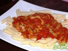 Leczo z białej papryki i pomidorów